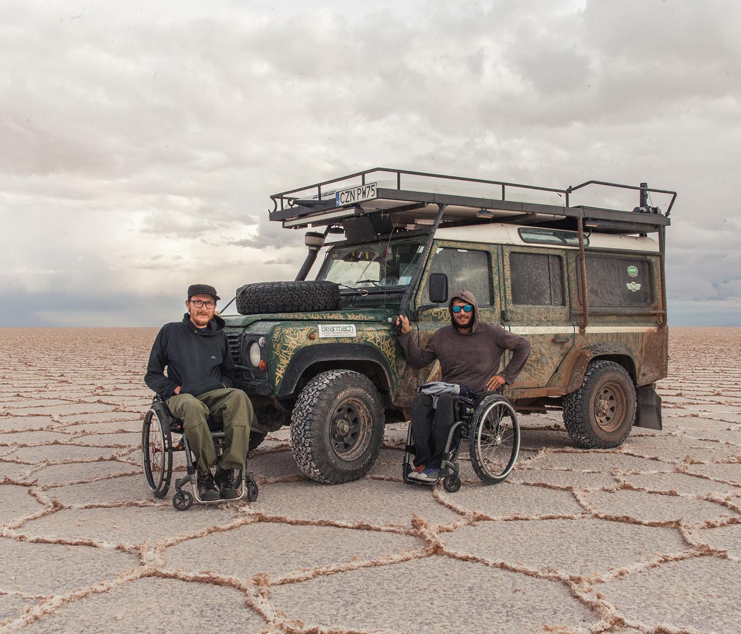 Michał Woroch zdjęcie z wyprawy z Ziemi Ognistej przez dwie Ameryki aż na Alaskę